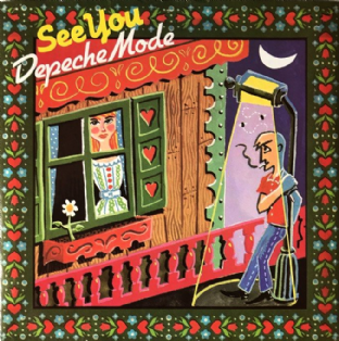 "Depeche Mode ‎- See You (7"") (VG-/VG+)"